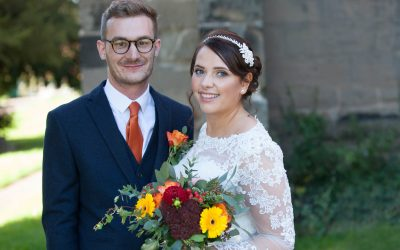 Wedding photographer, Rugeley ~ Gemma & Ashley