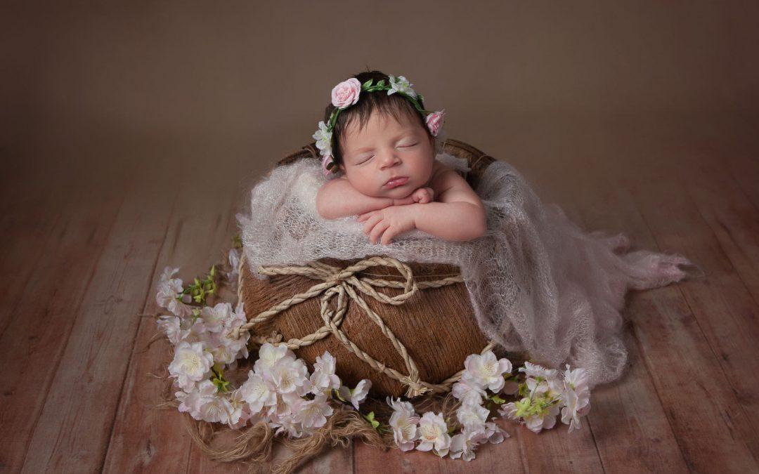 Newborn baby photographer ~ Rugeley ~ Iris