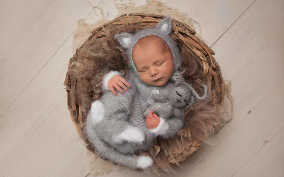 newborn photographer in Rugeley ~ Archie