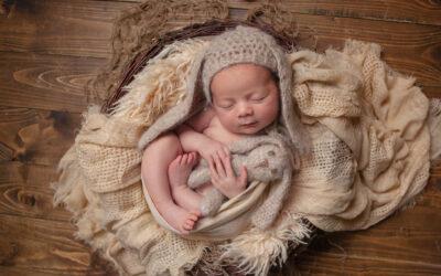Newborn photographer Rugeley ~ Tristan