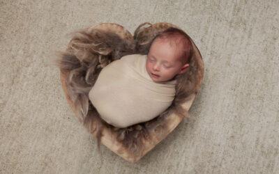 Newborn photographer in Rugeley ~ Leo