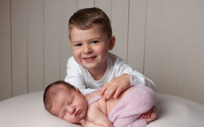 newborn photography studio ~ Orla & Theo