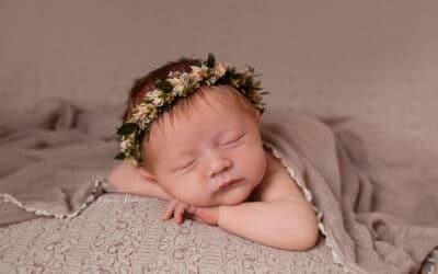 Newborn photoshoot in Rugeley Staffordshire ~ Alice